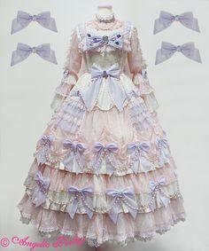 Angelic Pretty Prism Princess Dress Set