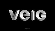 Veig ID Project 'Veig type' on Behance