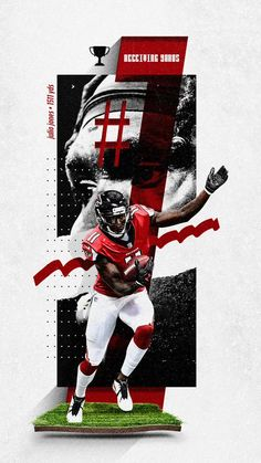 """Love how this project turned out with a switch of sport/style ✅ ◼ Stats Leaders Patrick Mahomes x Julio Jones x Ezekiel Elliott x Aaron Donald"""""""