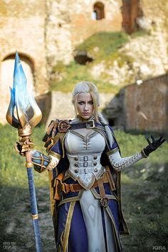Amazing Jaina Proudmoore Cosplay (From World of Warcraft)