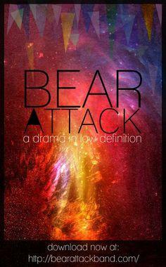 Bear Attack Band #music & #graphicdesign www.viviendochic.com