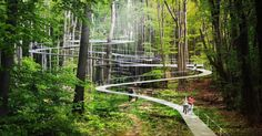 Parkorman forest park in Turkey lets you trampoline through the treetops | Inhabitat - Green Design, Innovation, Architecture, Green Building