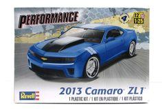 2013 Camaro ZL1 Revell 85-4370 1/25 New Car Model Kit – Shore Line Hobby