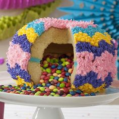 The Pinata Cake Pan. Whats Better Than Cake? Cake Filled With Candy!