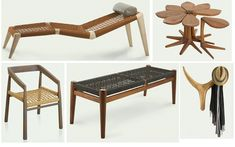 South African Furniture by John Vogel - Luxury Interior Design JournalLuxury Interior Design Journal Steel Furniture, Funky Furniture, Classic Furniture, Vintage Furniture, Baby Furniture Sets, Bed Furniture, Furniture Design, Furniture Ideas, Kitchen Furniture Inspiration