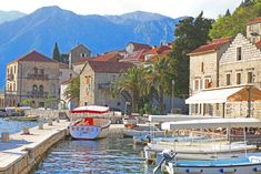 Perast small cute fisher's town on the Bay of Kotor in Montenegro famous with two islets with picturesque chapel on ea. Small Group Tours, Day Tours, Montenegro, Solo Travel, Adventure Travel, Road Trip, Travel Tours, Ea, Cute