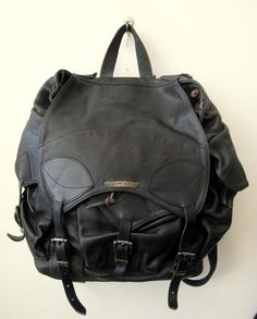 leather backpack by chrome hearts