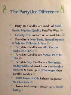 The PartyLite Choice