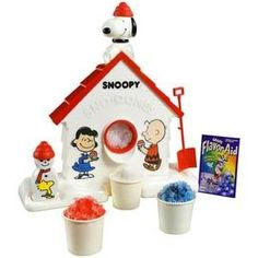 My mom bought us this Snoopy Sno-Cone maker. It made awful snow cones but I loved all things Snoopy. My Childhood Memories, Childhood Toys, Summer Memories, Sweet Memories, Limonade Rose, Snow Cone Machine, Slushy Maker, Before I Forget, Sno Cones