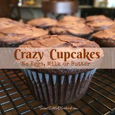 Vegan choc cupcakes!  Yeyah!!