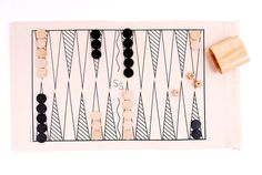 A Roll-up Backgammon Set