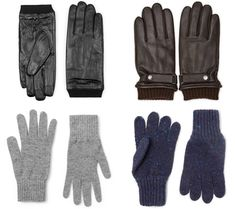 Over the centuries, sturdy gloves have been used to protect the mitts of manly men (labourers, field workers, guys who owned hawks), so it pays to keep a pair close to hand when the mercury plummets.