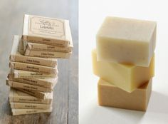 I love the presentation of these soaps