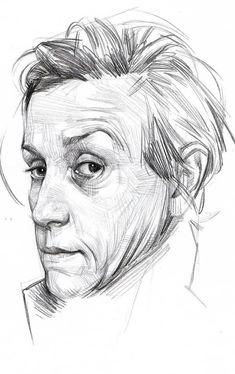 Pencil Drawing Inspiration, Pencil Drawings, Skulls, Faces, Art, Fun Stuff, Kunst, Art Background, The Face