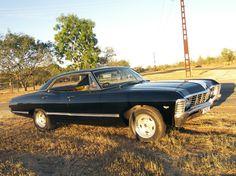 1967 Chevy Impala four door. : 1967 Chevy Impala four door. Chevrolet Impala 1967, Impala Car, Car Chevrolet, My Dream Car, Dream Cars, Supernatural Impala, Old Classic Cars, Future Car, Motor Car