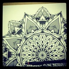 Solstice Mandala Project Day003 by OrgeSTC on DeviantArt