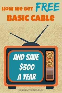 Pinner wrote: Every get tired of paying for basic cable? Did you know you can get it for FREE?