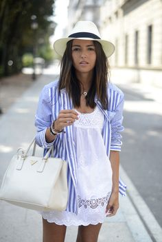 stripes over white
