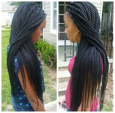 Rope twists by @braidsbyguvia - http://www.blackhairinformation.com/community/hairstyle-gallery/braids-twists/rope-twists-braidsbyguvia/ #ropetwists #senegalesetwists #twists