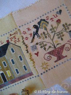The Blog of Nevis. Work and Cross Stitch