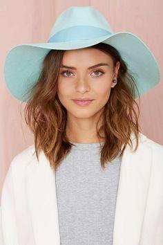 Jasmine Wool Hat - Mint   Shop Accessories at Nasty Gal