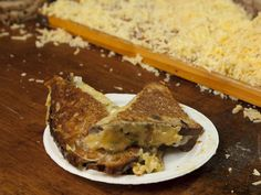 Toasted cheese sandwich by Kappacasein at Borough Market