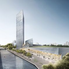 Barkow Leibinger Win Competition For Berlin's Tallest High-Rise