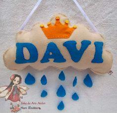 Toka da Arte Atelier: Chuva de Bençãos - Nuvem para o pequeno Davi
