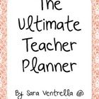 ***Please download the preview to get an idea of what's included!***  Hiya! Thanks for taking a look at my Ultimate Teacher Planner in black  ...