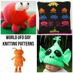 We knitters certainly know a thing or two about UFOs. But for once, we're not talking about Unfinished Objects. Instead, we're celebrating all things outer space with this fun collection of quirky alien-themed knitting patterns.