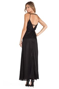 196aa8ad58b Shop for Lovers + Friends Back in Love Maxi Dress in Black at REVOLVE.
