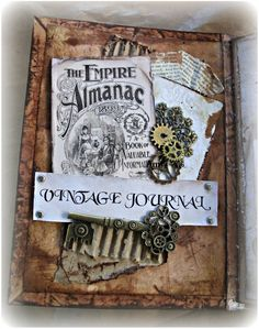 VINTAGE JOURNAL  by Annette