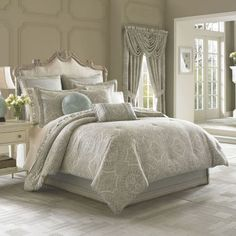 Queen Street® Carlina 4-pc. Jacquard Comforter Set & Accessories  found at @JCPenney