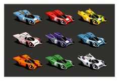 Guy Allen Porsche 917 signed limited edition print