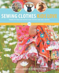 Sewing Clothes Kids Love: Amazon.de: Nancy Langdon, Sabine Pollehn: Fremdsprachige Bücher