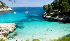 Top   10 Beaches in Menorca