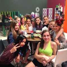 With our dance team snacking before we get ready for our dance competition! Who's all coming? ~Ash and Tyler Dance Moms Chloe, Dance Moms Funny, Dance Moms Dancers, Dance Moms Girls, Kendall, Schools In Nyc, Dance Moms Confessions, Famous Dancers, Cute Young Girl