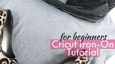 Cricut Iron On Tutorial for Beginners - In this video I'm sharing how to make a simple yet fun t-shirt using Cricut and Silver Glitter Iron-on. This is a great video for beginners who want to get familiar with the Iron-on process. Please be sure to subscribe and give the video a thumbs up. I will be doing another video like this one using a custom image soon.