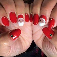 【クリスマスネイル5選】クリスマスには特別なネイルを!#クリスマスネイル #サンタクロースネイル 等 | Jocee