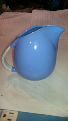 Hall Pottery Rose Parade Pitcher by AuntEcho on Etsy, $32.00