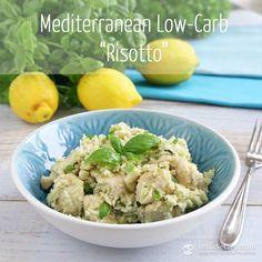 "Mediterranean Low-Carb ""Risotto"" (paleo & keto-friendly, 6.2 g net carbs)"