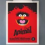 Wonderful Retro Muppet Concert Posters :D