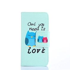 Buy Wiko GOA Case Wiko GOA Flip Wallet Kickstand Case,Bat King Owl And Her Family Pattern [Magnetic] Style Premium Leather Case Wallet Flip Stand [Flap Closure] Cover Case for Wiko GOA NEW for 3.96 USD | Reusell