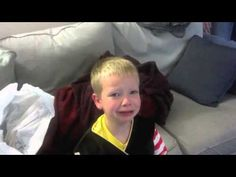 """""""I ate all your Halloween candy!"""" Jimmy Kimmel does it again with challenging parents to video their young ones for our amusement. LMAO, & IT IS WORTH IT! :]"""