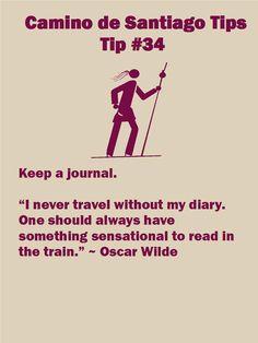 Camino Tip 34: Keep a journal
