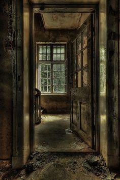 The Lier Psychiatric Hospital in Norway was built in 1926 and abandoned in 1986.  Both haunting and eerily beautiful.