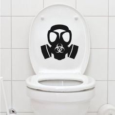 Fantastic 54 Best Toilet Humour Images Toilet Decals Bathroom Humor Ibusinesslaw Wood Chair Design Ideas Ibusinesslaworg