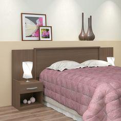 Cabeceiras dão mais conforto a sua cama e ainda complementam a #decoração! #Prod94289
