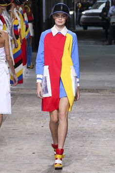 Jean Charles de Castelbajac womenswear, spring/summer 2015, Paris Fashion Week