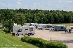 Motorhome parking Giffaumont Champaubert - Aire de Camping-Car Chantecoq - France -geweest in 2014